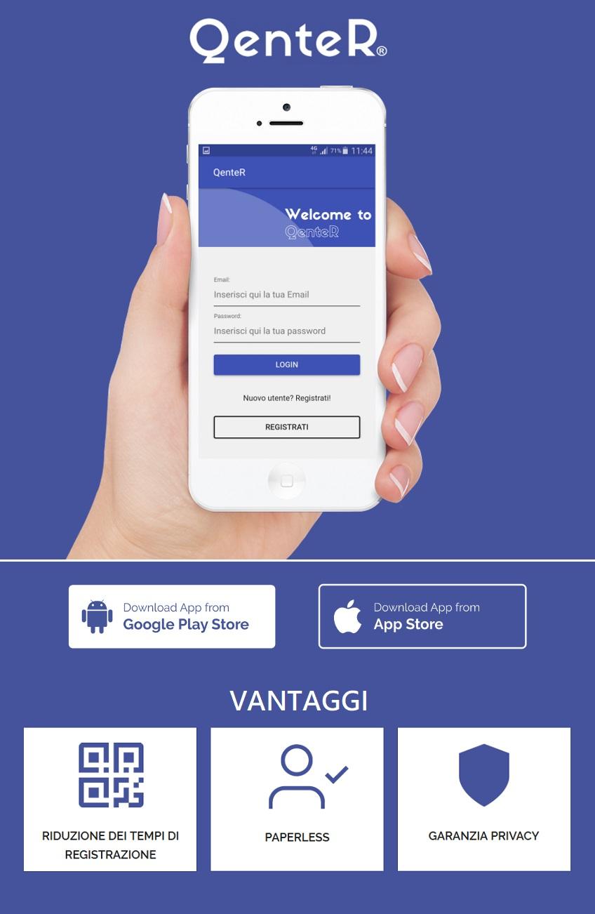 QenteR - App gestione accessi visitatori | Sygest Srl