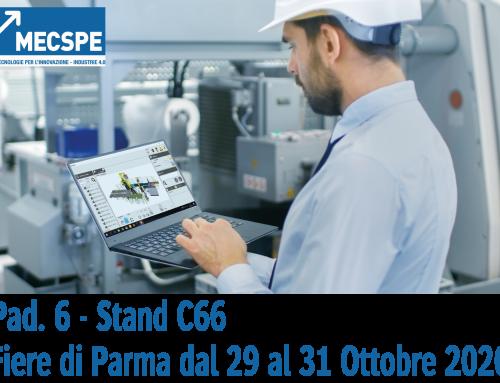 MECSPE – dal 29 al 31 Ottobre 2020 – Fiere di Parma
