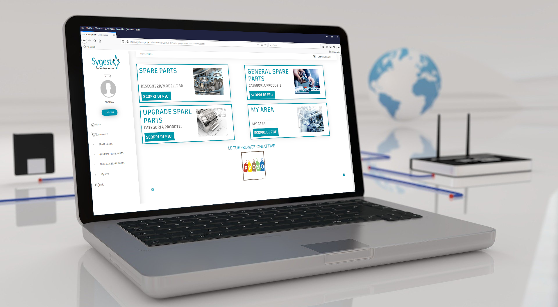 Software Ricambi Online - Web Spare Parts | Sygest Srl